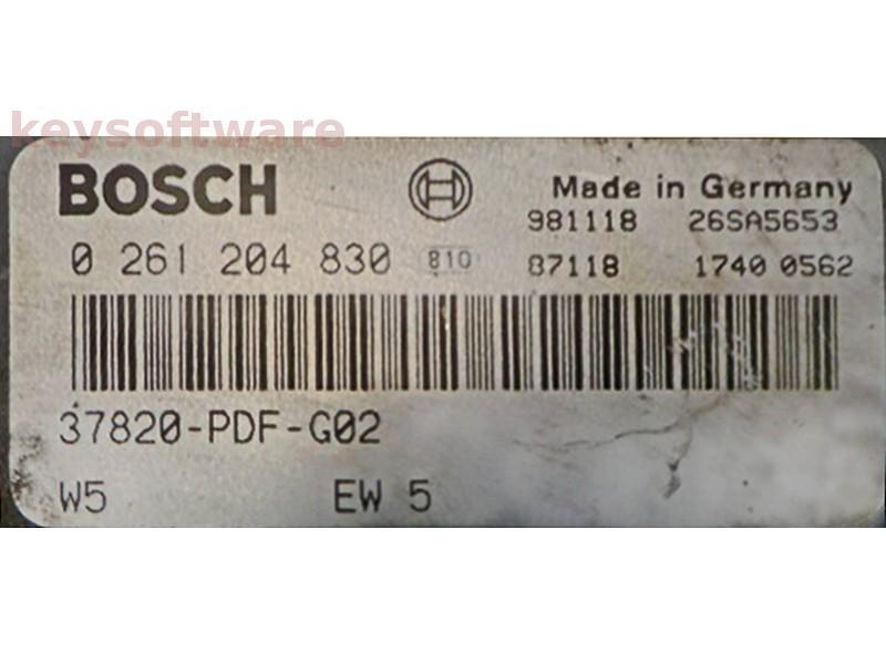 ECU Honda Accord 1.6 37820-PDF-G02 M4.6.1 {