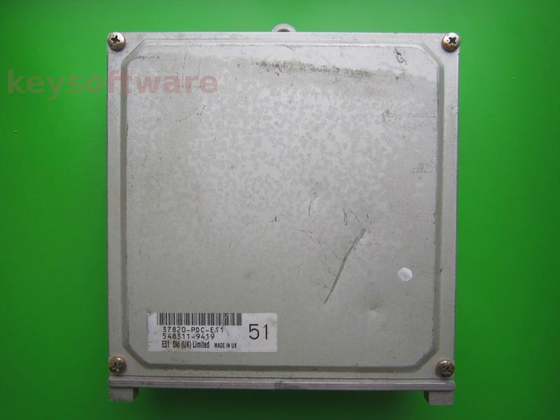 ECU Honda Accord 2.0 37820-PDC-E11