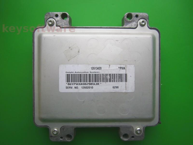 ECU Hummer H3 12613420 12602010 DELPHI