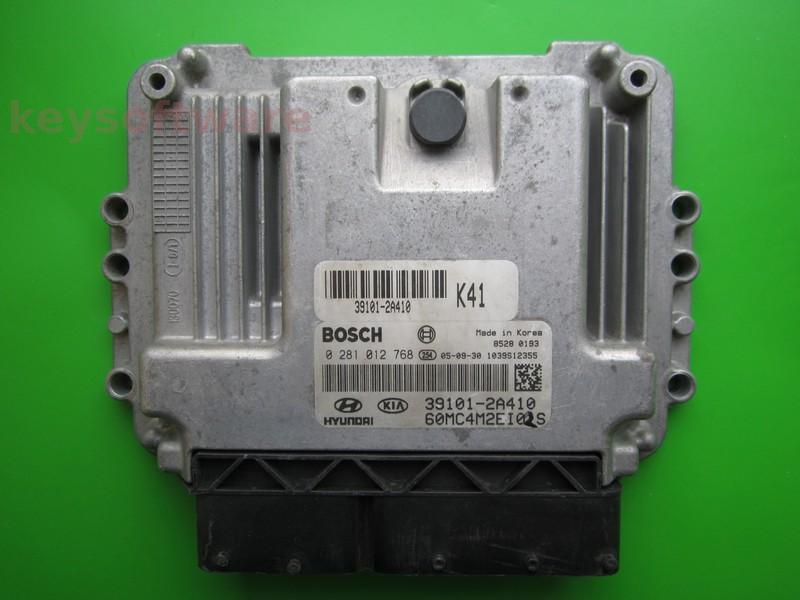 ECU Hyundai Accent 1.5CRDI 39101-2A410 0281012768 EDC16C39 {+