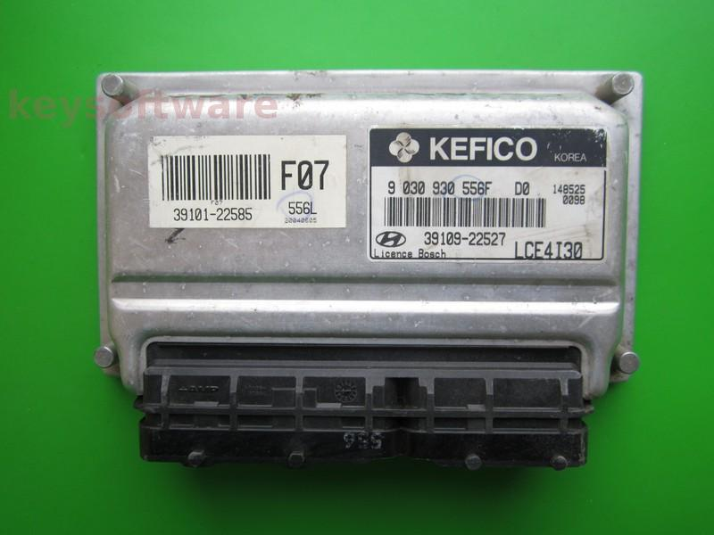 ECU Hyundai Accent 1.3 39109-22527 9030930556F M7.9.0