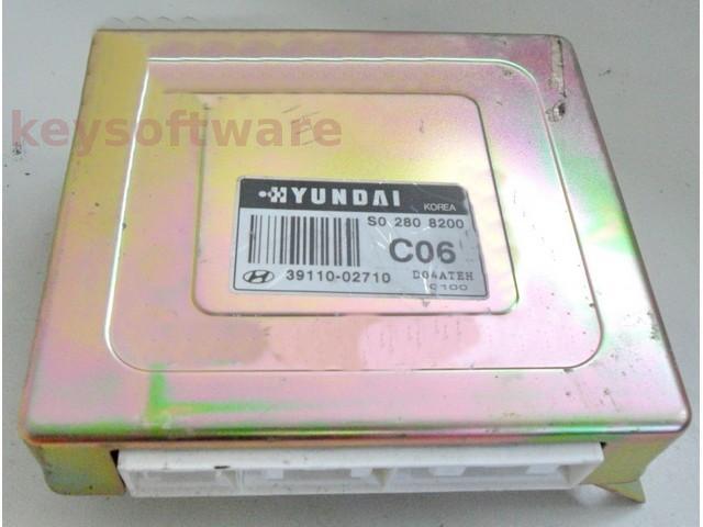 ECU Hyundai Atos 1.0 39110-02710 {