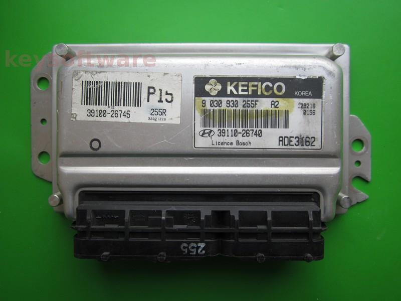 ECU Hyundai Accent 1.6 39110-26740 9030930255F ~