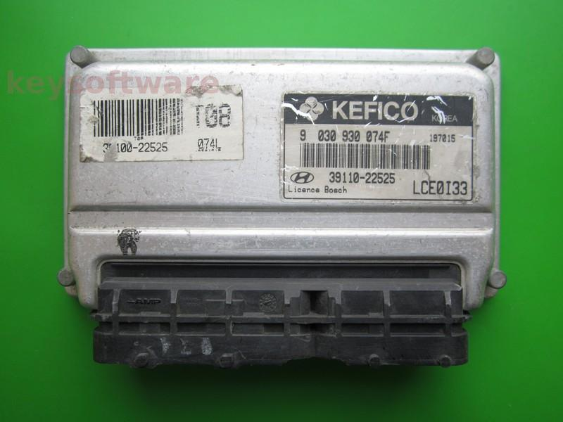 ECU Hyundai Accent 1.3 39110-22525 9030930074F M7.9.0