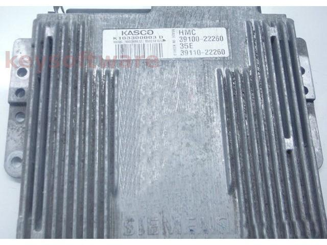 ECU Hyundai Accent 1.5 39100-22260 K103300003D {