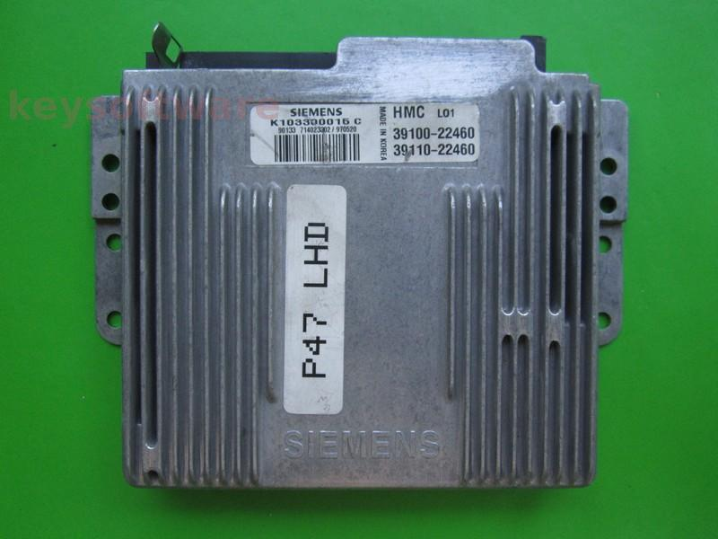 ECU Hyundai Accent 1.5 39100-22460 K103300015C