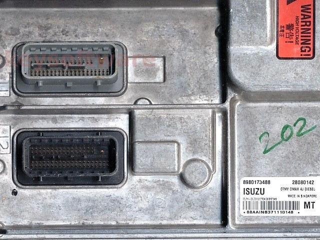 ECU Isuzu Rodeo D-Max 2.5DDI 8980173488