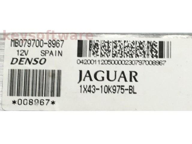 ECU Jaguar X-Type 3.0 1X43-10K975-BL {