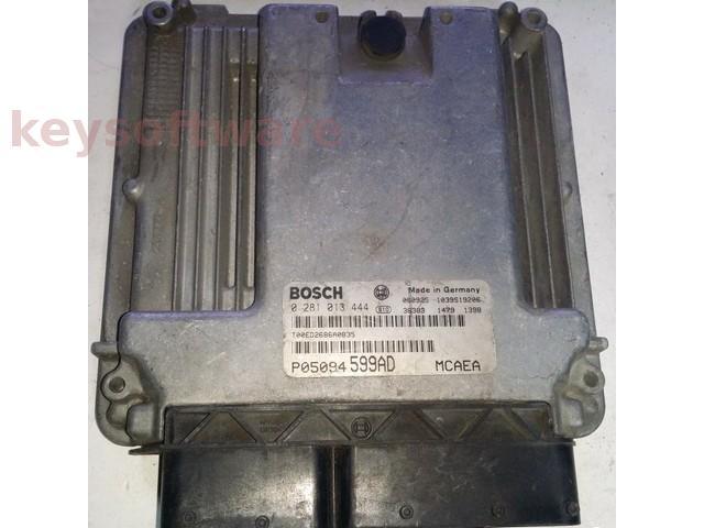 ECU Jeep Compass 2.0CRD P05094599AD 0281013444 EDC16U31 { +