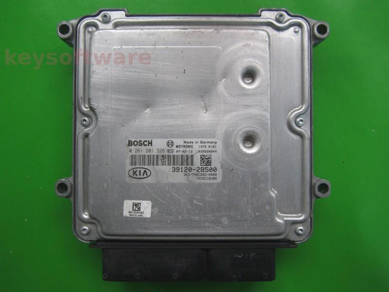 ECU Kia Ceed 1.6 39120-2B500 0261201326 MG7.9.8 {