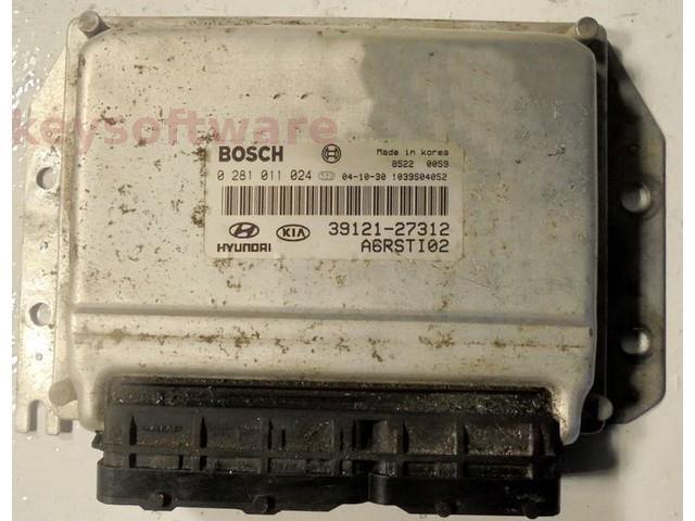 ECU Kia Carens 2.0CRDI 39121-27312 0281011024 EDC15C7 {
