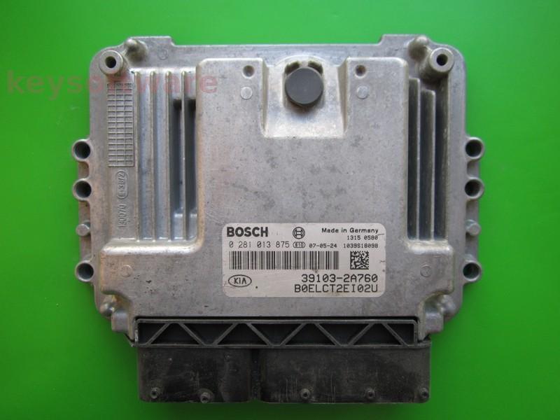 ECU Kia Ceed 1.5CRDI 39103-2A760 0281013875 EDC16C39