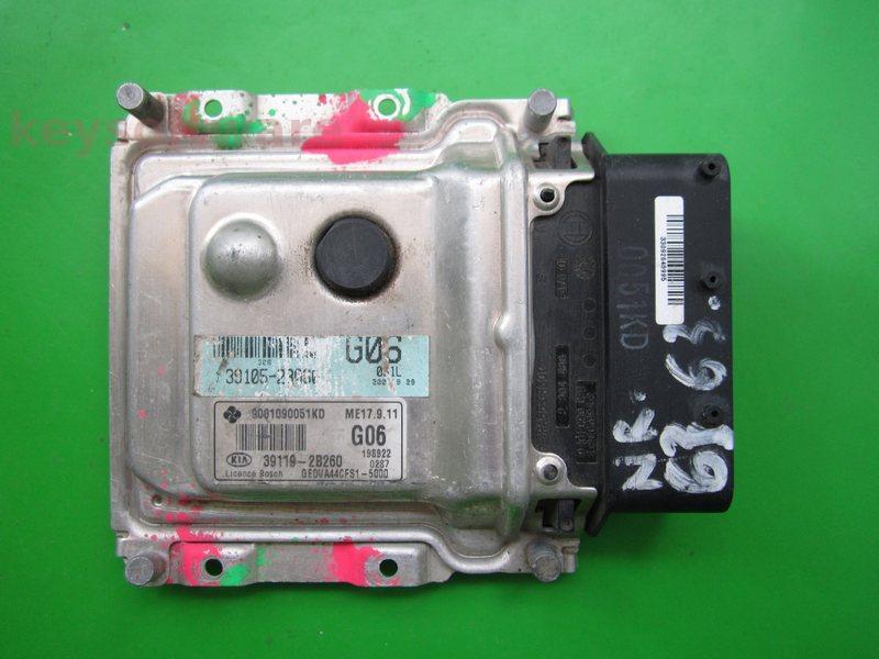 ECU Kia Ceed 1.4 39119-2B260 9001090051KD ME17.9.11