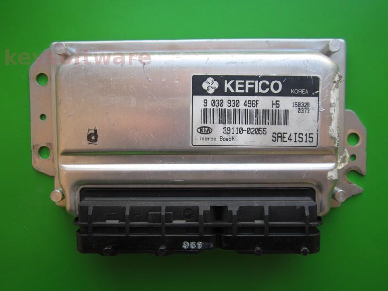 ECU Kia Ceed 1.1 39110-02055 9030930496F H5 M7.9.0