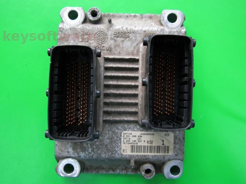 ECU Lancia 1.2 0261208034 ME7.3H4 {