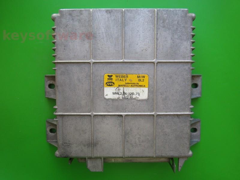ECU Lancia Dedra 1.6 WHL2.06/12D.73