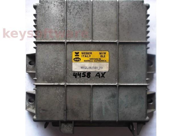 ECU Lancia Dedra 1.6 WHL2.06/120_79 {