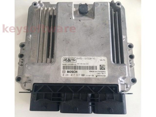 ECU Land Rover 2.0TDCI BH-12A650-VC 0281017917 EDC17CP42 {