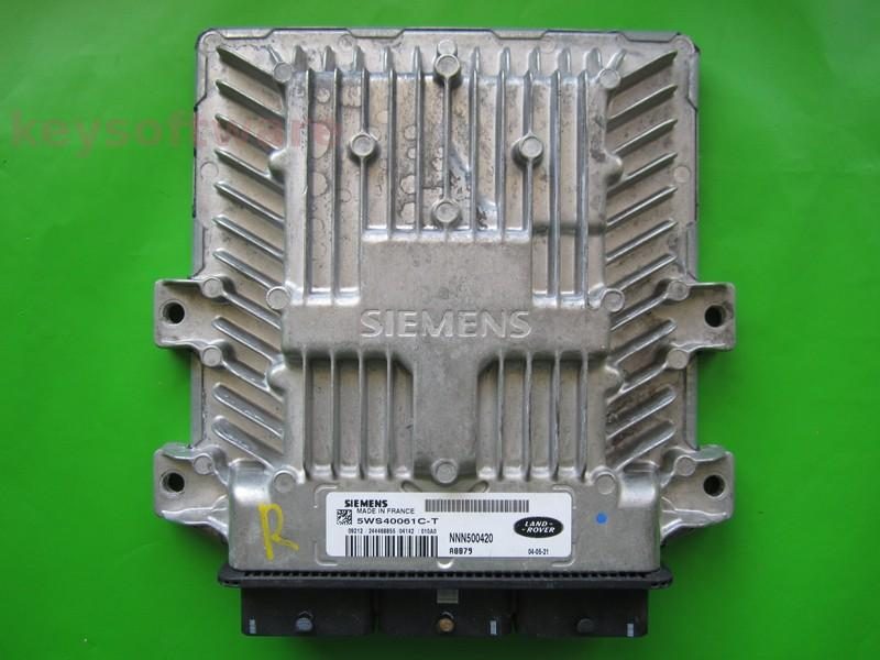 ECU Land Rover Discovery 2.7TDI 5WS40061C-T