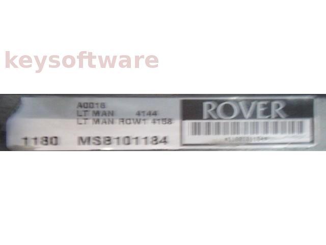 ECU Land Rover Discovery 2.5TDI MSB101184 {
