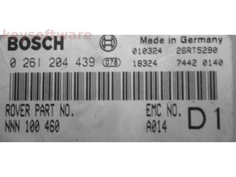 ECU Land Rover Discovery 4.0 NNN100460 0261204439 M5.2.1 {