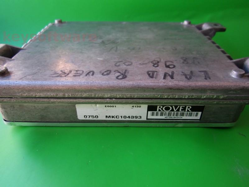 ECU Land Rover Freelander 1.8 MKC104393