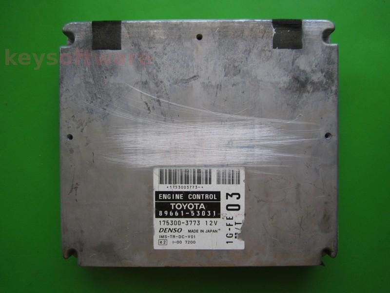 ECU Lexus IS200 89661-53031 175300-3773