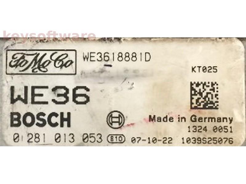 ECU Mazda BT50 2.5D 0281013053 EDC16C7 {
