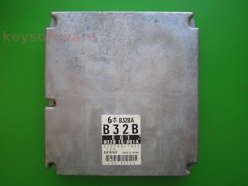 ECU Mazda 323 1.3 079700-7821 B32B