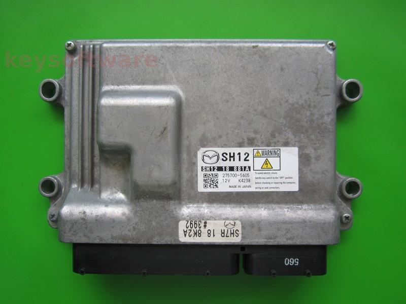 ECU Mazda 3 2.2 SH1218881A 275700-5605