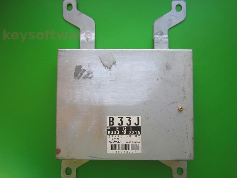 ECU Mazda 323 1.3 279700-0182 B33J