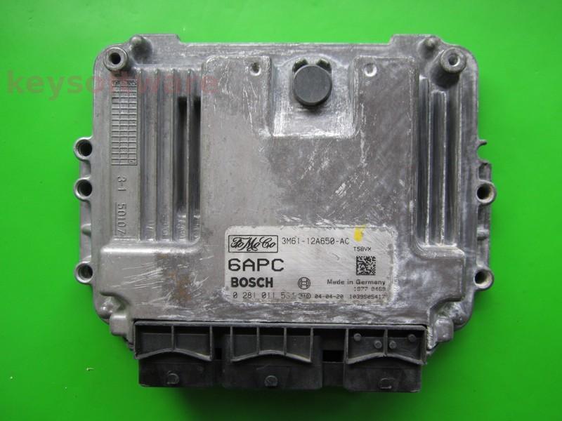 ECU Mazda 3 1.6TDCI 3M61-12A650-AC 0281011534 EDC16C3 { +