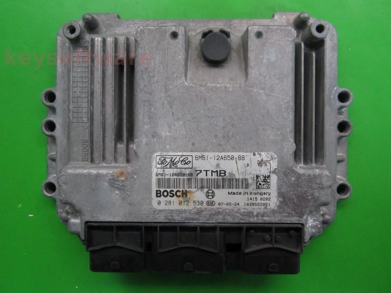 ECU Mazda 3 1.6TDCI 6M61-12A650-BB 0281012530 EDC16C34 {+