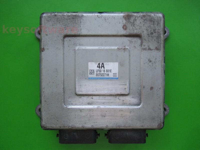 ECU Mazda 3 2.0 LF5018881E E6T52271H {