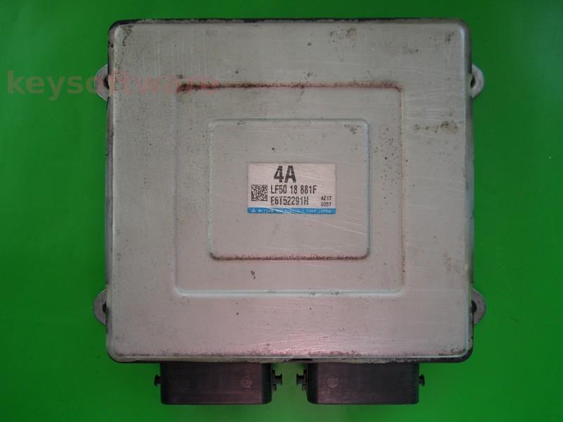 ECU Mazda 3 2.0 LF5018881F E6T52291H