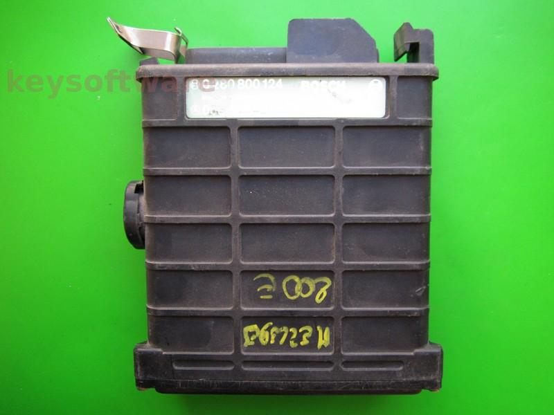 ECU Mercedes 190E 2.3 0035454932 0280800124 KE2.3 W201