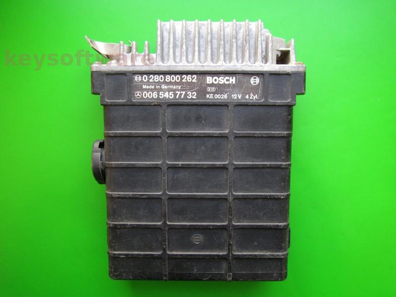 ECU Mercedes 190E 2.0 0065457732 0280800262 KE3.1 W201