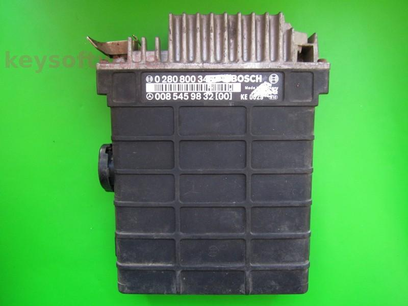 ECU Mercedes 190E 2.3 0085459832 0280800346 KE3.5 W124
