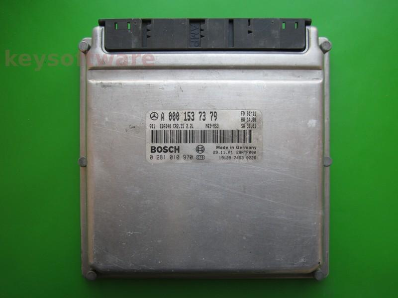 ECU Mercedes Sprinter 2.2CDI A0001537379 0281010970 EDC15C6