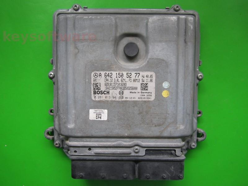ECU Mercedes ML300 3.0CDI 0281013941 CR4.12 EDC16CP31 W164 {