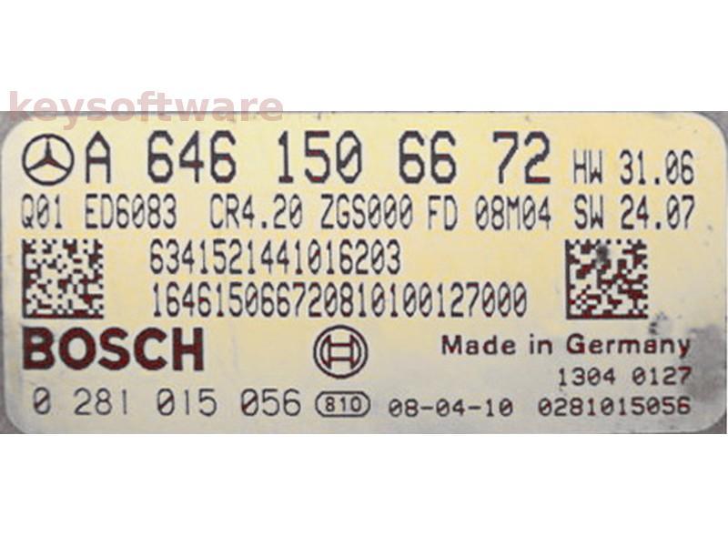 ECU Mercedes Sprinter 2.2 CDI 0281015056 EDC16CP31 {