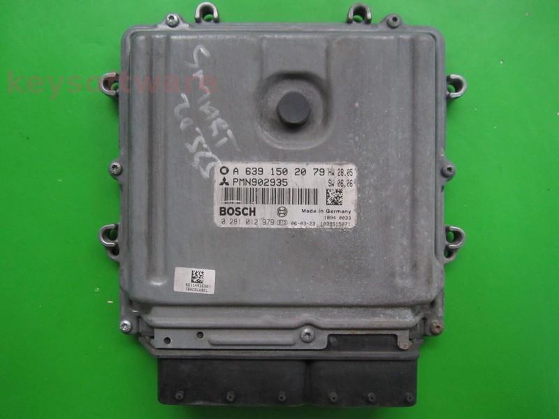 ECU Mitsubishi Colt 1.5DID PMN902935 0281012979 EDG16C33 {