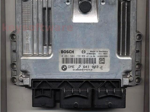 ECU Mini Cooper 1.6 0261S04158 DME7641003 MED17-2