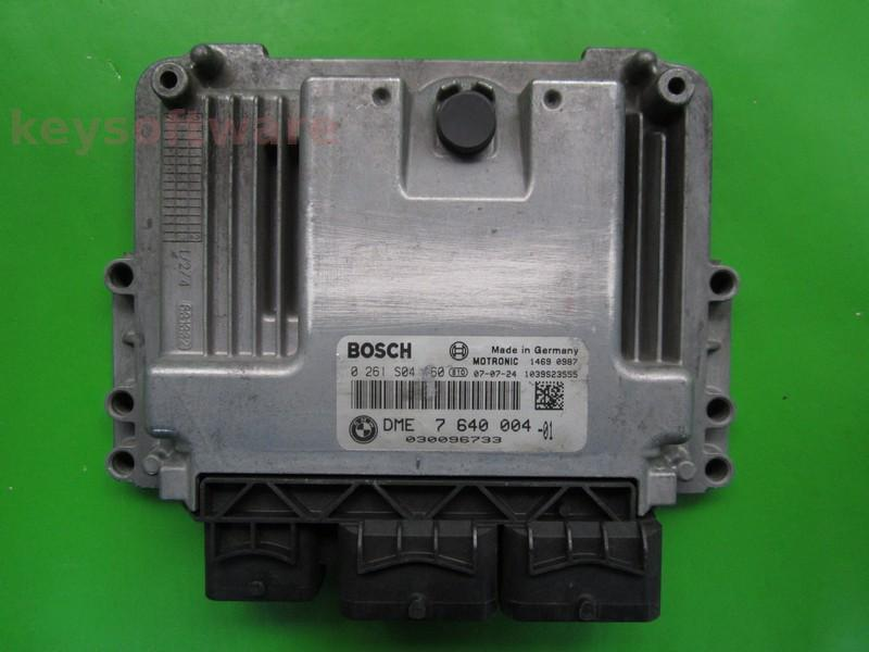 ECU Mini Cooper 1.6 0261S04160 DME7640004 MEV17.2