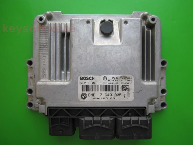 ECU Mini Cooper 1.6 0261S04161 DME7640005 MEV17.2
