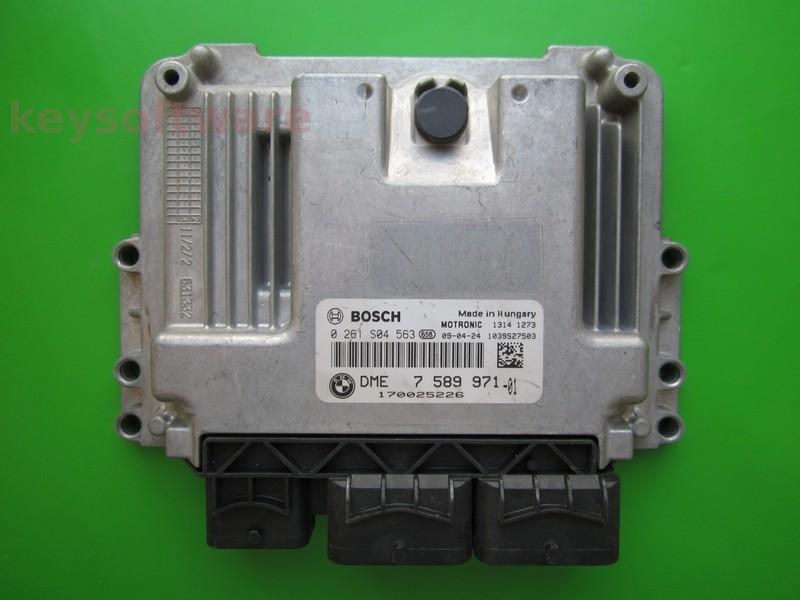 ECU Mini Cooper 1.6 0261S04563 DME7589971 MEV17.2