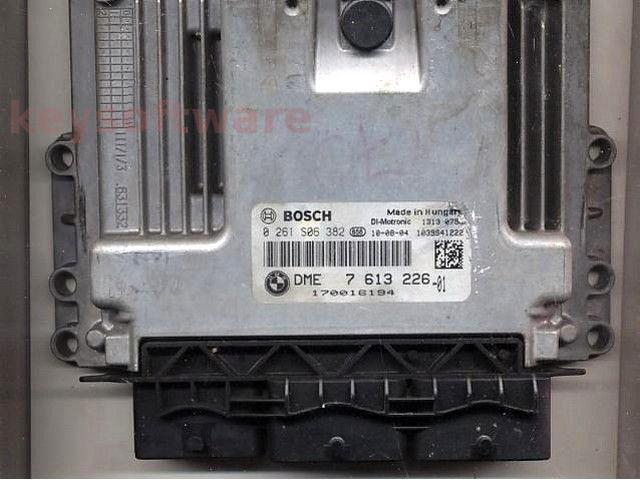 ECU Mini Cooper 1.6 0261S06382 DME7613226 MEVD17.2.2