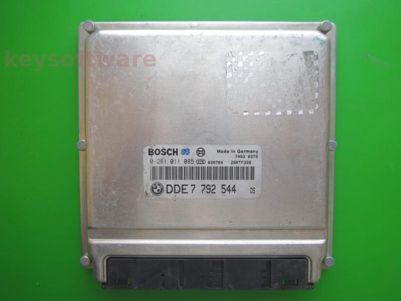 ECU Mini Cooper 1.4D DDE7792544 0281011085 EDC15C4