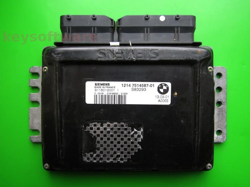 ECU Mini Cooper 1.6 7514587 S118012001I EMS2