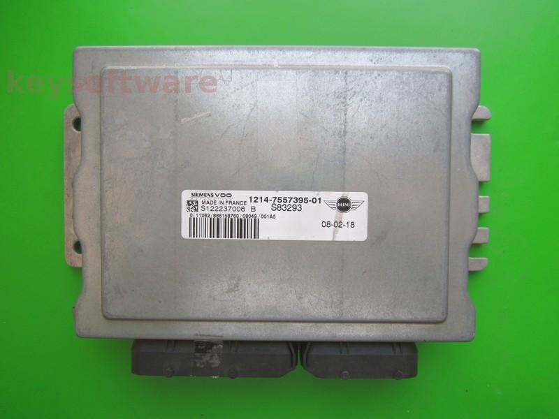 ECU Mini Cooper 1.6 7557395 S122237006B EMS5150